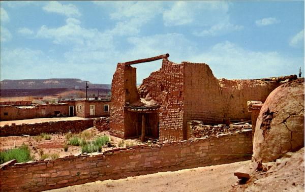 The Old Mission Church Gallup New Mexico