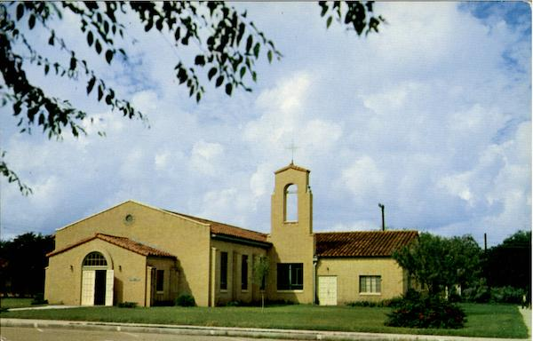 The Spanish Architecture Of The San Juan Methodist Church Texas