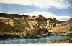 Picture Gorge On John Day River