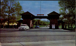 Beautiful Ft. Lewis Main Gate, Highway 99
