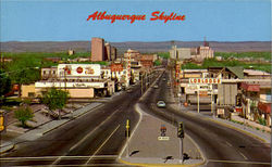 Albuquerque Skyline, Central Avenue