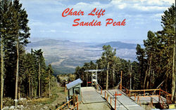 Chair Lift Sandia Peak Ski Area