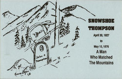 Snowshoe Thompson Day