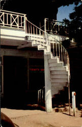 Picturesque Outside Circular Staircases At Weaverville