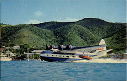 Antilles Air Boats Super Goose Postcard