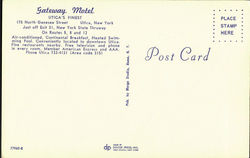 Gateway Motel, 175 North Genesee Street