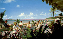 Cocktail Terrace Anchorage Hotel, Dickenson's Bay Postcard