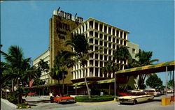 The Golden Gate Hotel Motel And Villas, 19400 Collins Avenue Postcard