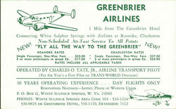 Greenbrier Airlines