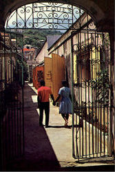 Creque's Alley Postcard