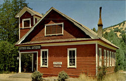 The Little Old Red Schoolhouse, Highway 49