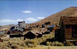 The Standard Mill At The Ghost Town Of Bodie