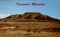 Tucumcari Mountain Postcard