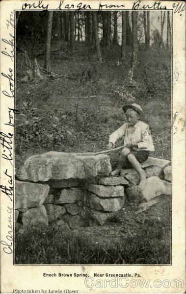 Enoch Brown Spring Greencastle Pennsylvania