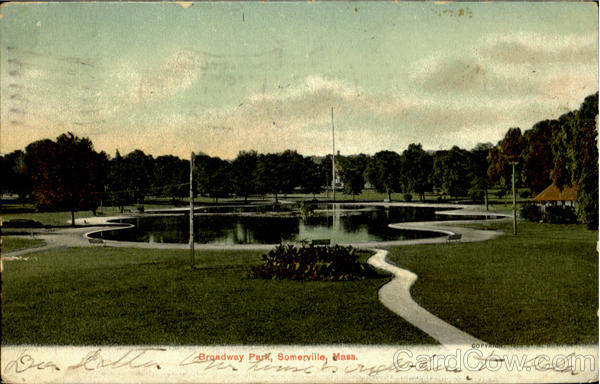 Broadway Park Somerville Massachusetts