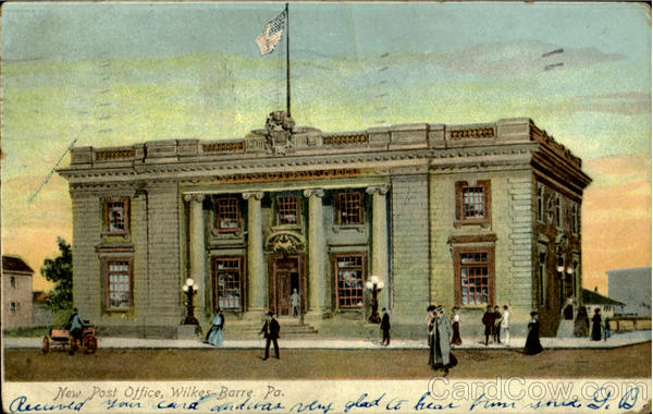 New Post Office Wilkes Barre Pennsylvania