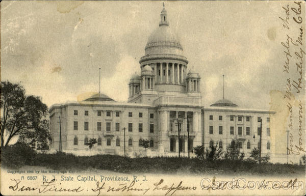 R. I. State Capitol Providence Rhode Island