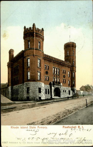 Rhode Island State Armory Pawtucket