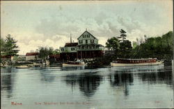 New Meadows Inn From The River