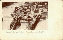 Harpers Ferry From Maryland Heights