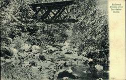 Railroad Trestle Over Los Gatos Creek