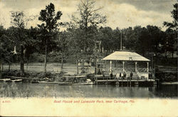 Boat House And Lakeside Park