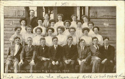 Charleston High School Senior Class 1908