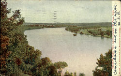Mississippi River From Indian Mounds