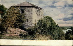 Old Block House Postcard