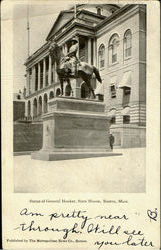 Statue Of General Hooker, State House
