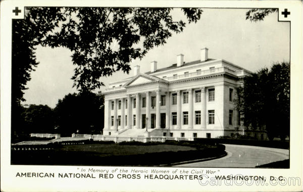 American National Red Cross Headquarters Washington District of Columbia