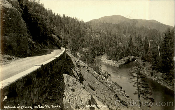 Redwood Highway On Smith River California Paterson