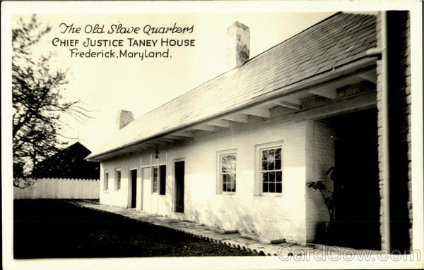 The Old Slave Quarters Frederick Maryland