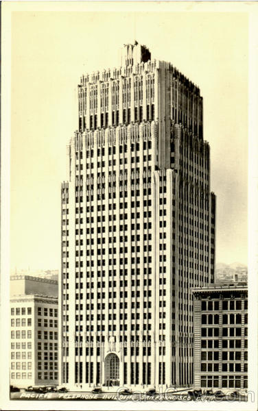 Pacific Telephone Building San Francisco California