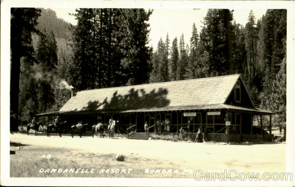 Dardanelle Resort Sonora Pass California