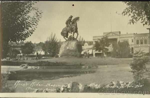 Rough Rider Monument Prescott Arizona