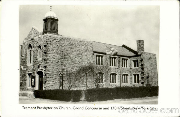 Tremont Presbyterian Church, Grand Concourse And 178th Street New York City