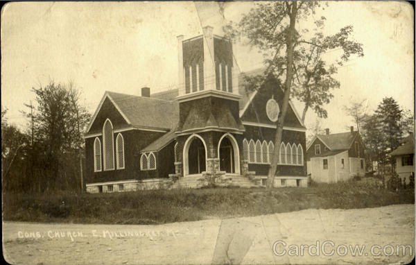 Cong Church E. Millinockey Maine