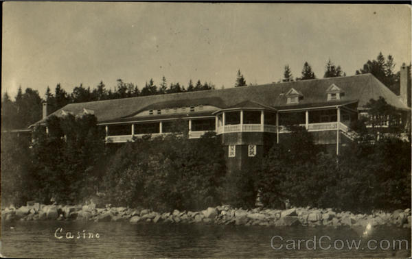 Casino - burned 1916 Maine