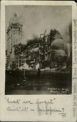 1906 Market St After Earthquake