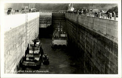 Navigation Locks At Bonneville