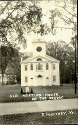 Old Meeting House On The Green
