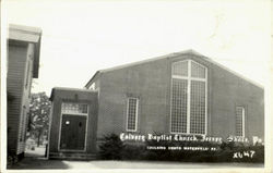 Calvary Baptist Church Postcard