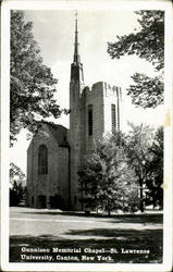 Gunnison Memorial Chapel, St. Lawrence University