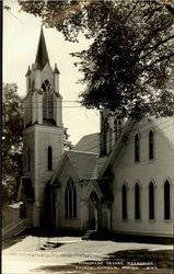 Monument Square Methodist Church Postcard