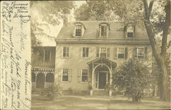 Exterior of the Parson's Home