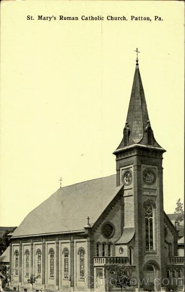 st  mary u0026 39 s roman catholic church patton  pa