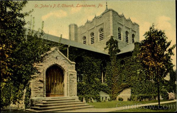 St. John's P. E. Church Lansdowne Pennsylvania