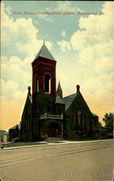 Point Breeze Presbyterian Church Homewood Pennsylvania