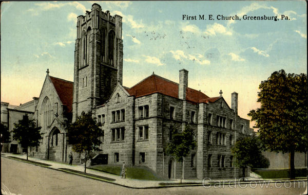 First M. E. Church Greensburg Pennsylvania